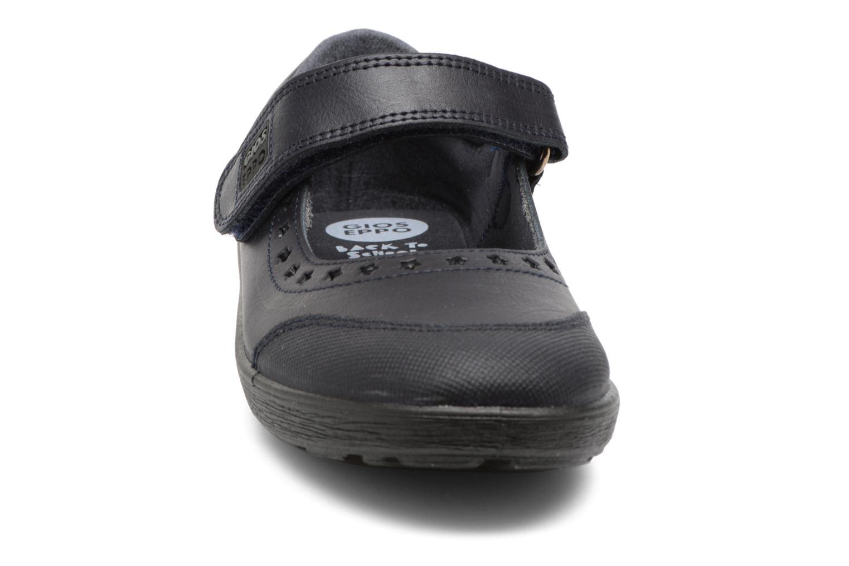 Ballerines Gioseppo ALPHA Bleu vue portées chaussures