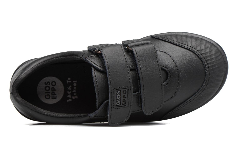 Schoenen met klitteband Gioseppo NEWTON Zwart links