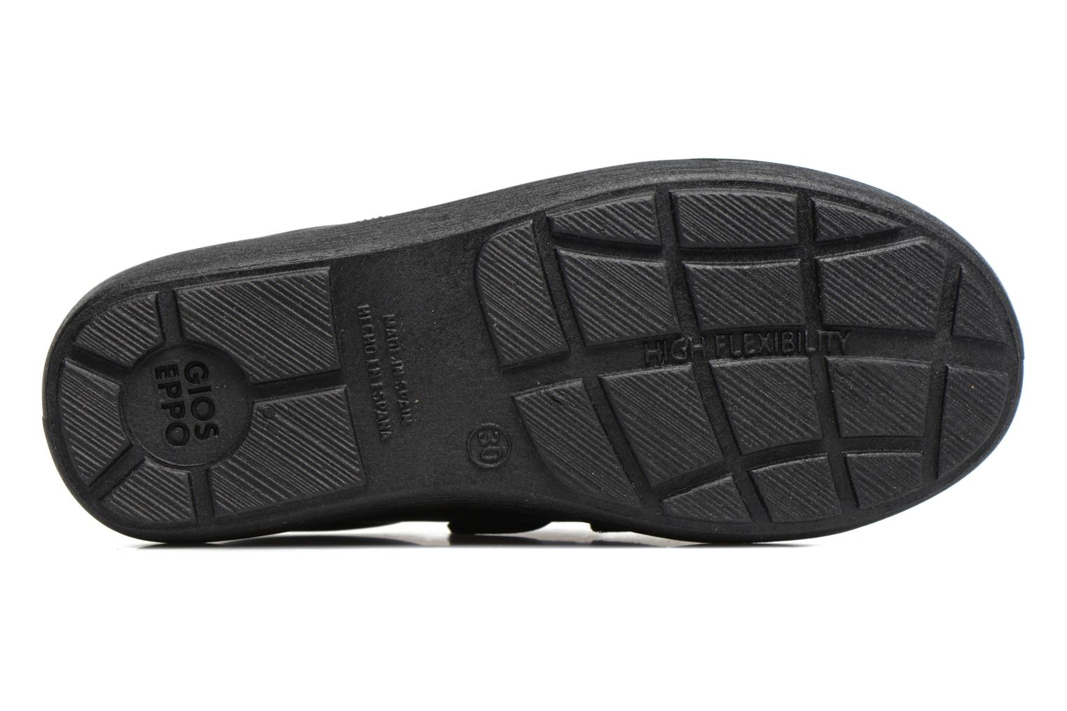 Velcro shoes Gioseppo NEWTON Black view from above
