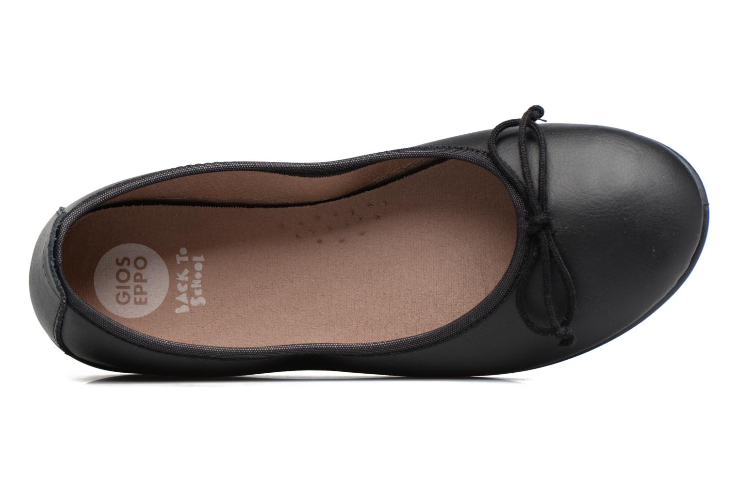 Ballet pumps Gioseppo VOLTAIRE Black view from the left