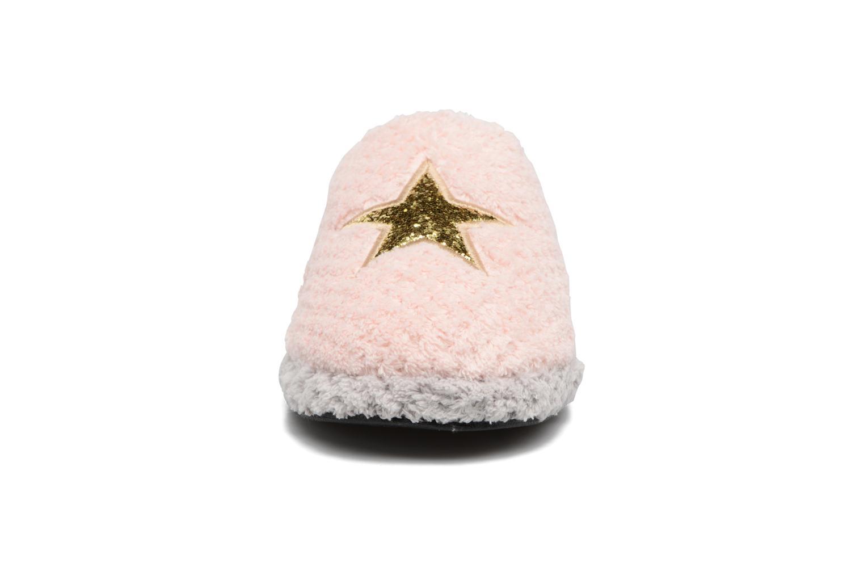 Hausschuhe Gioseppo 40755 rosa schuhe getragen