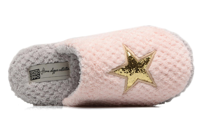 Hausschuhe Gioseppo 40755 rosa ansicht von links
