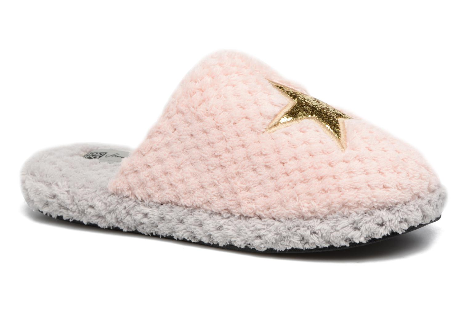 Slippers Gioseppo 40755 Pink detailed view/ Pair view