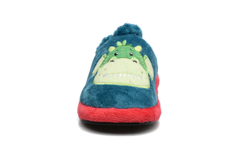 Pantofole Gioseppo 40740 Azzurro modello indossato