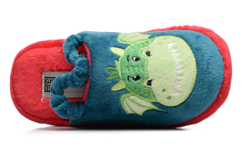 Pantofole Gioseppo 40740 Azzurro immagine sinistra