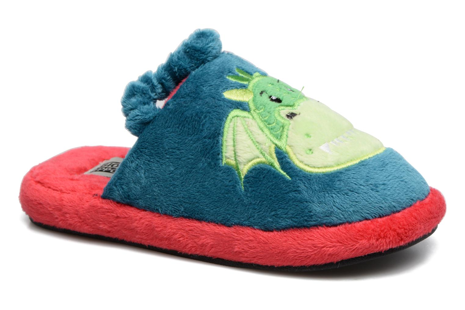 Slippers Gioseppo 40740 Blue detailed view/ Pair view