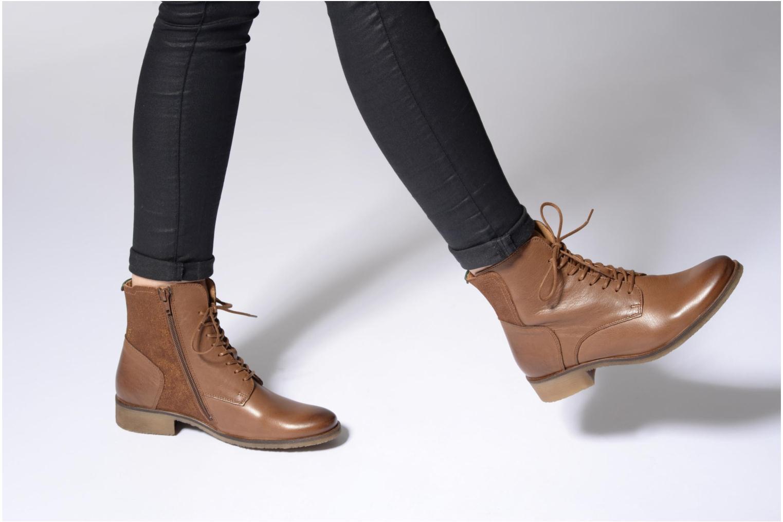 Bottines et boots Kickers LIFEBIS Noir vue bas / vue portée sac