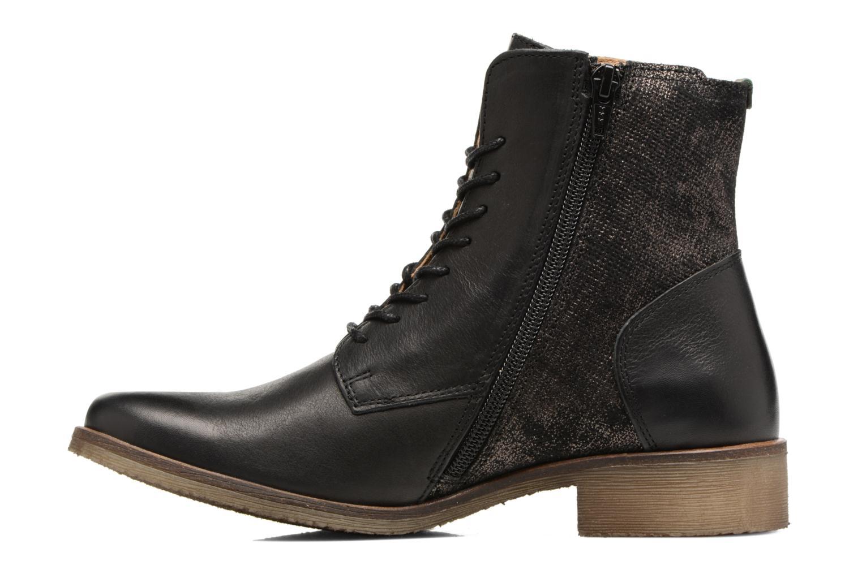 Bottines et boots Kickers LIFEBIS Noir vue face