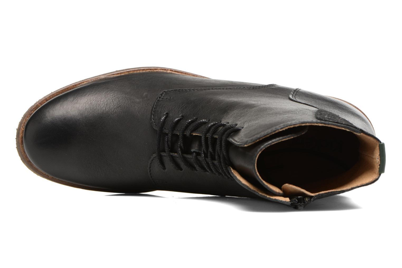 Bottines et boots Kickers LIFEBIS Noir vue gauche