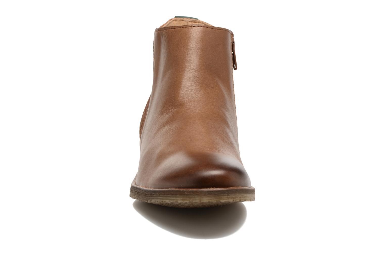 Bottines et boots Kickers LOWER Marron vue portées chaussures
