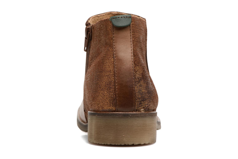 Bottines et boots Kickers LOWER Marron vue droite