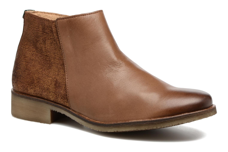 Bottines et boots Kickers LOWER Marron vue détail/paire