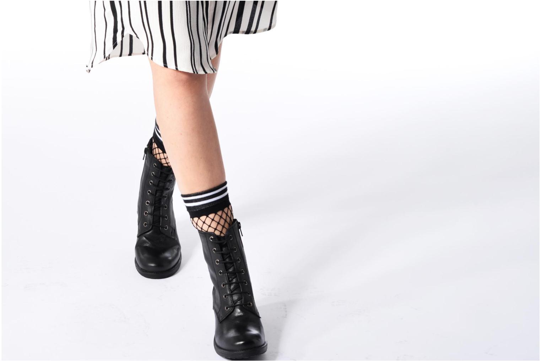 Bottines et boots Kickers REKABBY Noir vue bas / vue portée sac