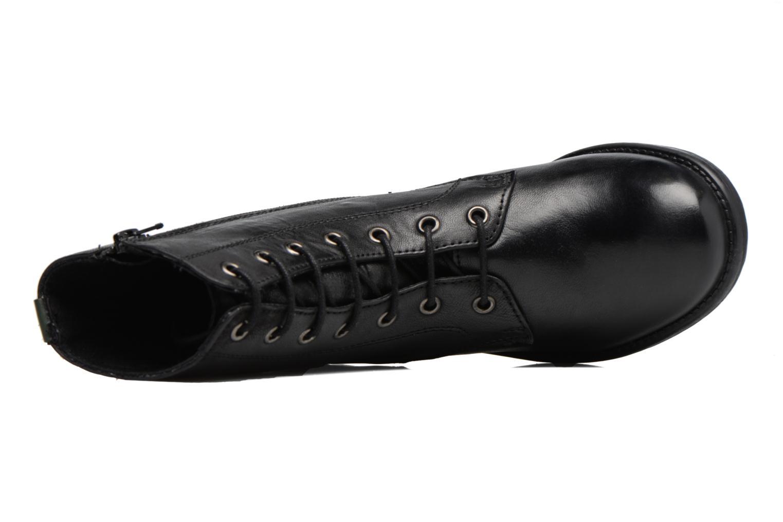 Bottines et boots Kickers REKABBY Noir vue gauche