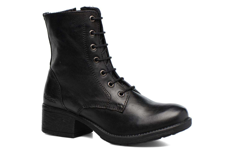 Bottines et boots Kickers REKABBY Noir vue détail/paire