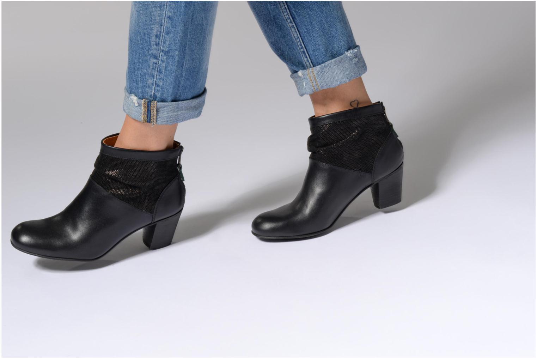 Bottines et boots Kickers SEETY Noir vue bas / vue portée sac