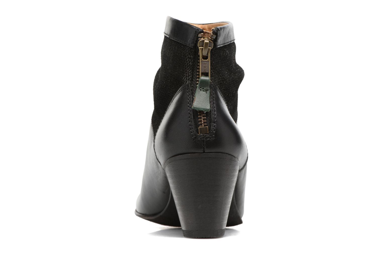 Bottines et boots Kickers SEETY Noir vue droite