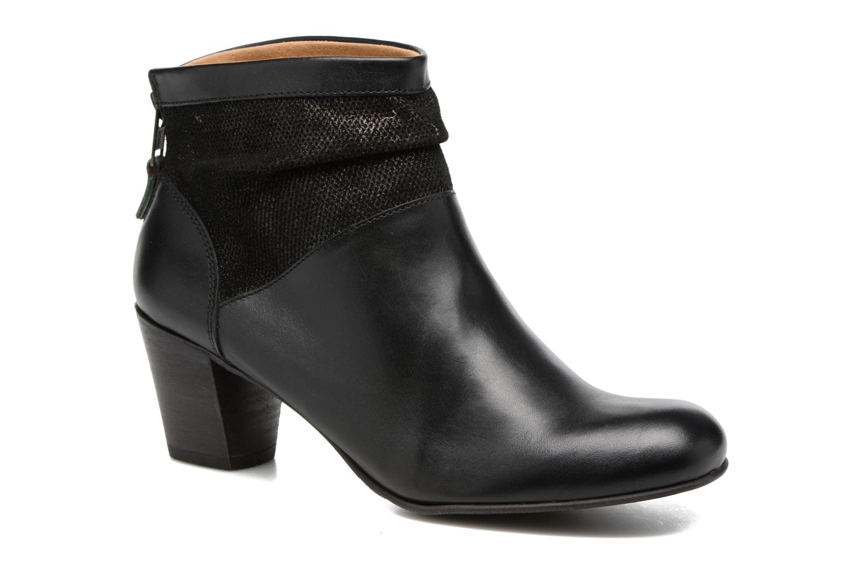 Bottines et boots Kickers SEETY Noir vue détail/paire
