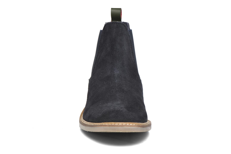 Bottines et boots Kickers TYGA Bleu vue portées chaussures