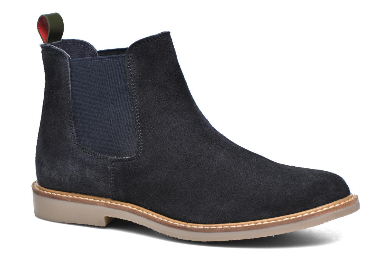 Bottines et boots Kickers TYGA Bleu vue détail/paire