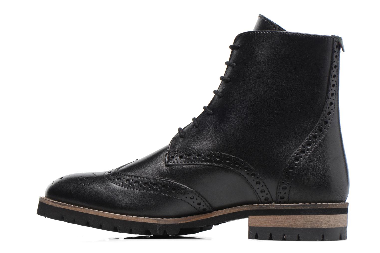Bottines et boots Kickers WILS Noir vue face
