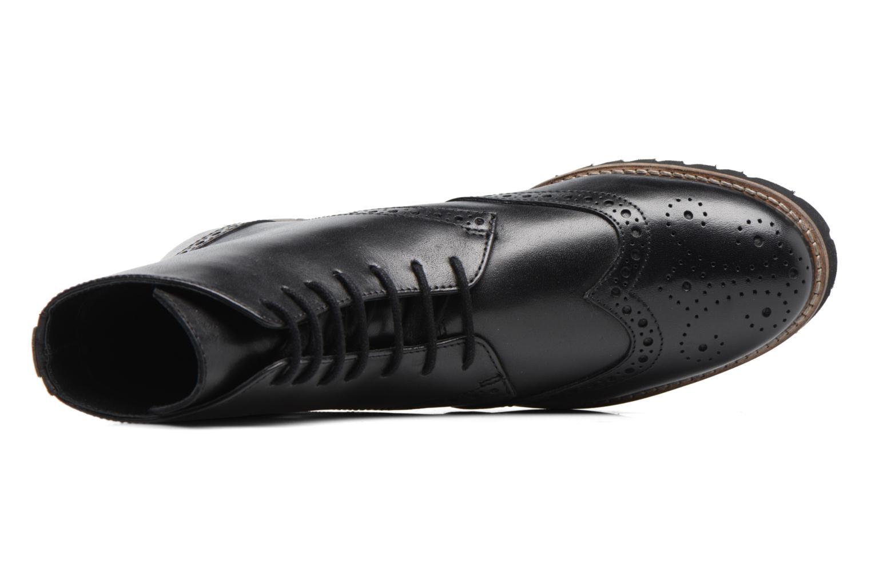 Bottines et boots Kickers WILS Noir vue gauche