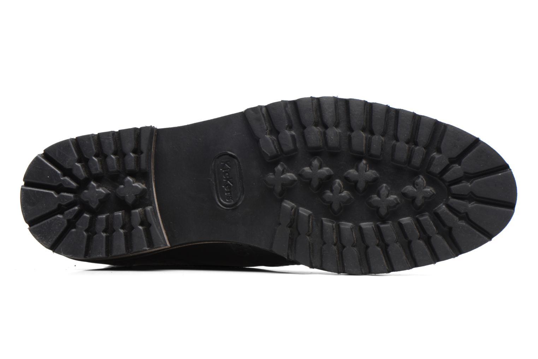 Bottines et boots Kickers WILS Noir vue haut