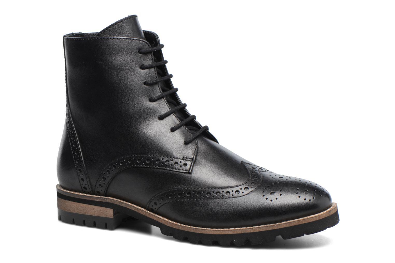 Bottines et boots Kickers WILS Noir vue détail/paire