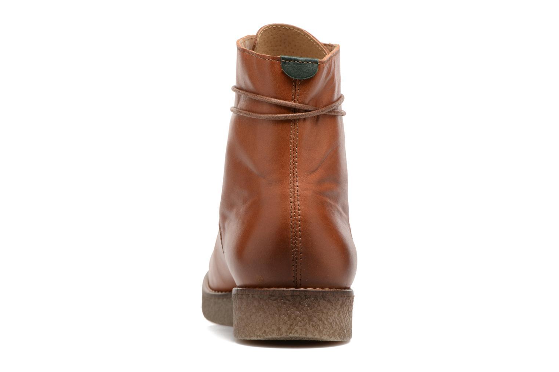 Bottines et boots Kickers ZENHIT Marron vue droite