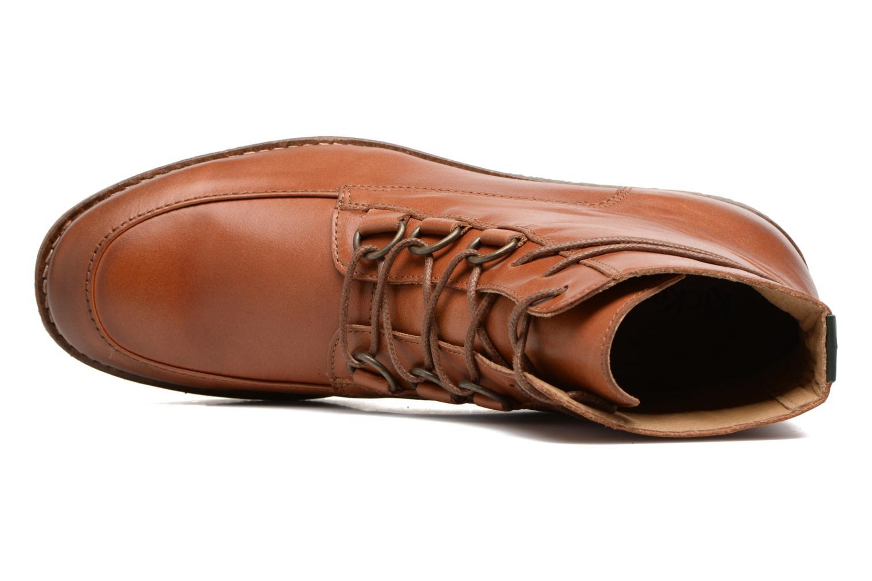 Bottines et boots Kickers ZENHIT Marron vue gauche