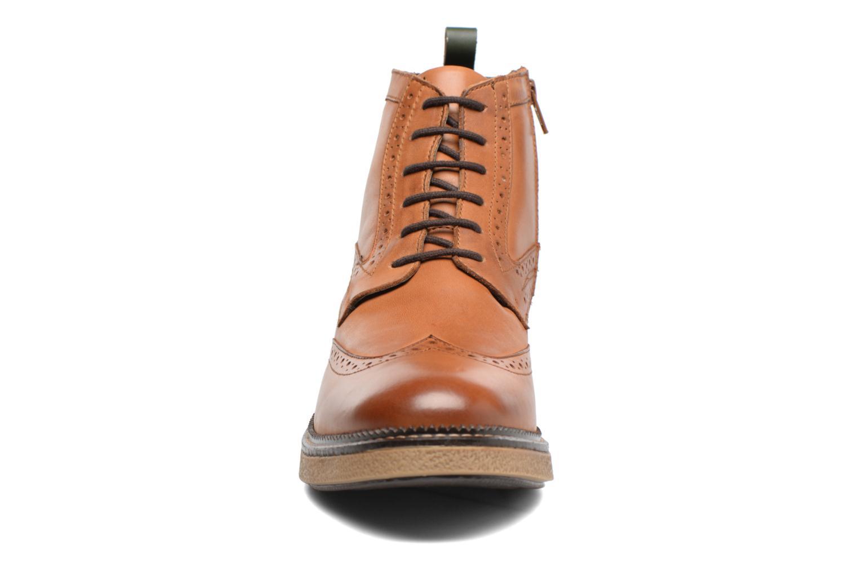 Bottines et boots Kickers FORTINO Marron vue portées chaussures