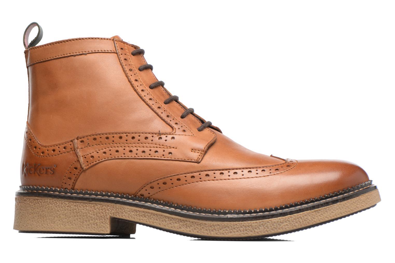 Bottines et boots Kickers FORTINO Marron vue derrière