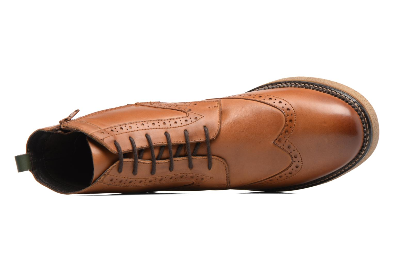 Bottines et boots Kickers FORTINO Marron vue gauche