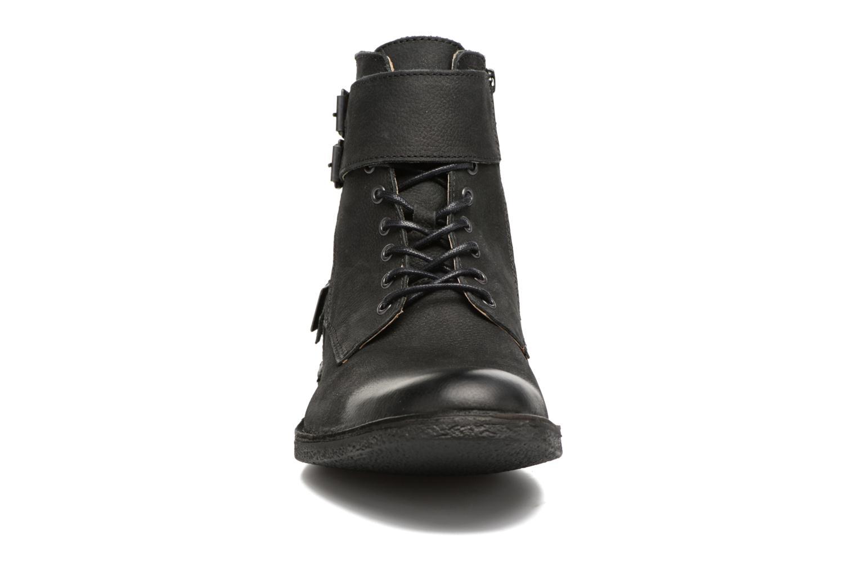 Bottines et boots Kickers MIST RACK Noir vue portées chaussures
