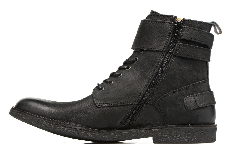 Bottines et boots Kickers MIST RACK Noir vue face