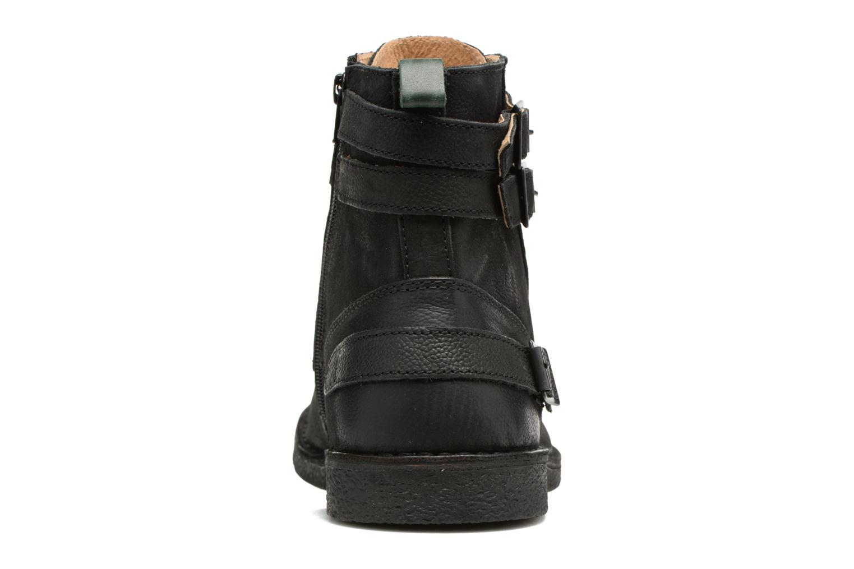 Bottines et boots Kickers MIST RACK Noir vue droite