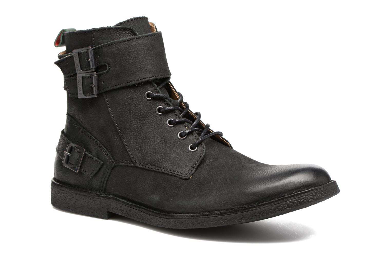 Bottines et boots Kickers MIST RACK Noir vue détail/paire