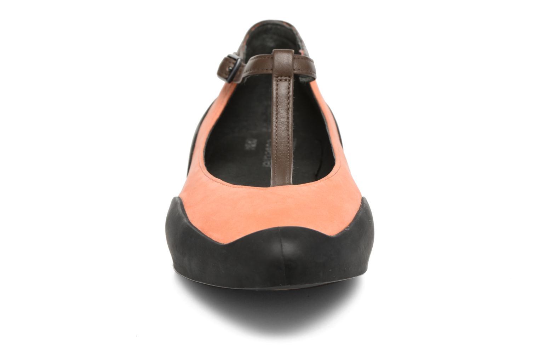 Ballerines Camper Capara 21857 Orange vue portées chaussures