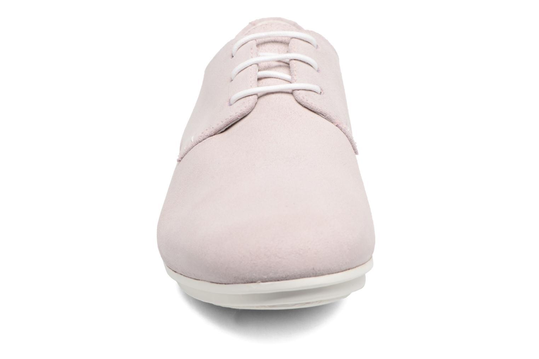 Chaussures à lacets Camper Tabi 22584 Rose vue portées chaussures