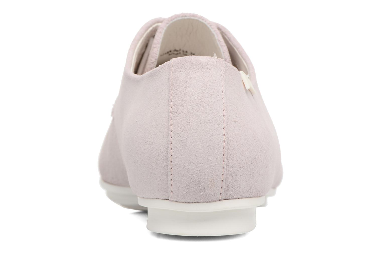 Chaussures à lacets Camper Tabi 22584 Rose vue droite