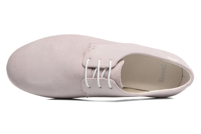 Chaussures à lacets Camper Tabi 22584 Rose vue gauche
