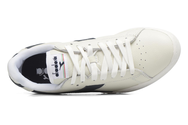 Sneakers Diadora GAME L LOW Bianco immagine sinistra