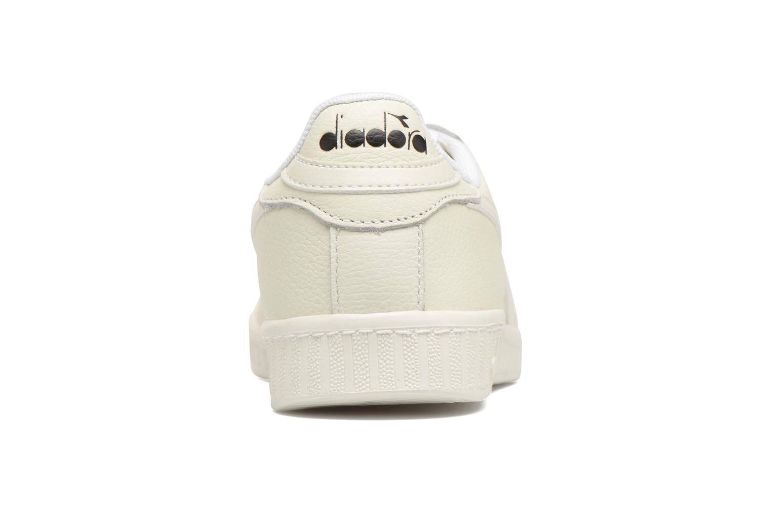 Trainers Diadora GAME L LOW White view from the right