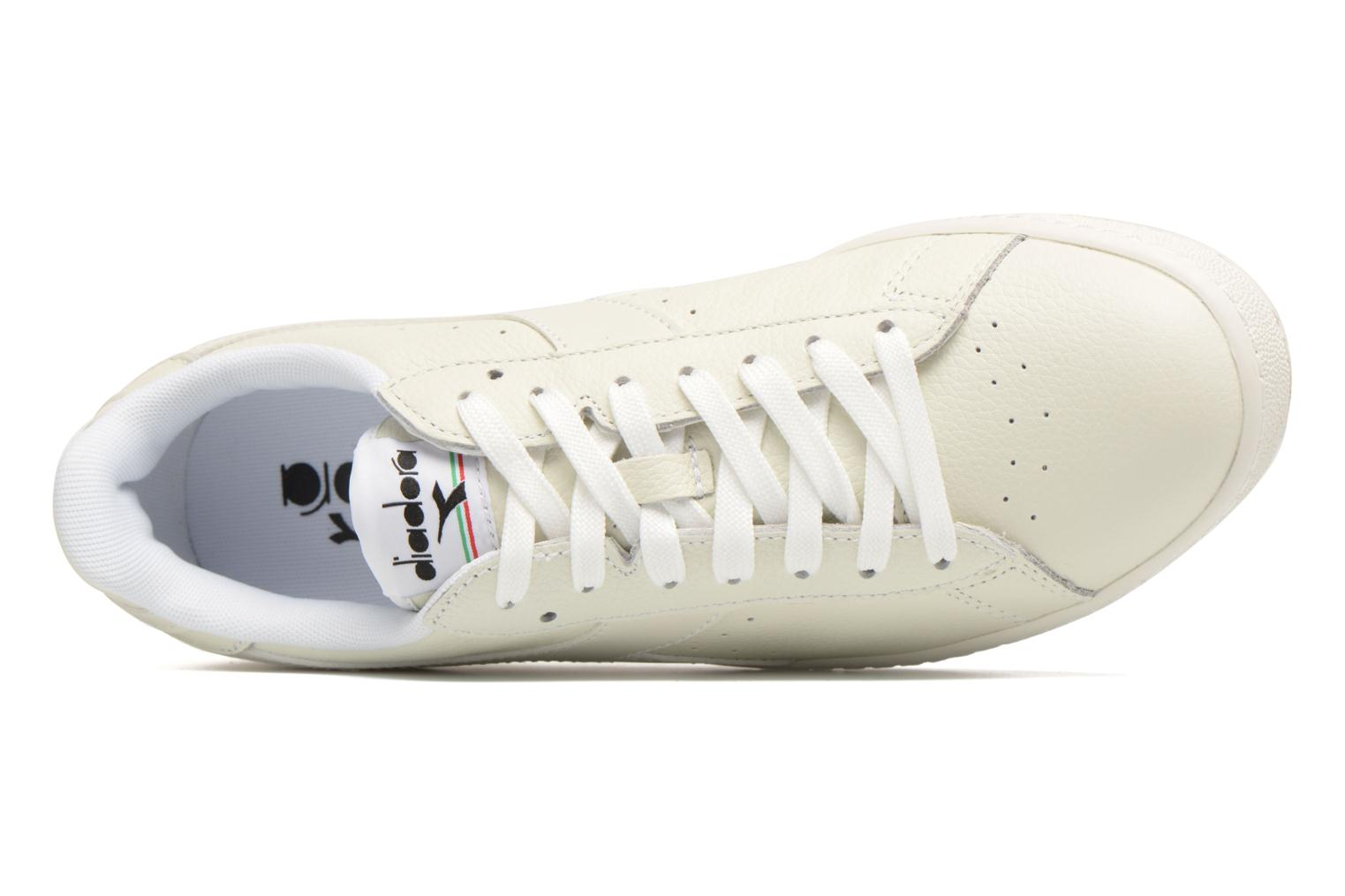 Trainers Diadora GAME L LOW White view from the left