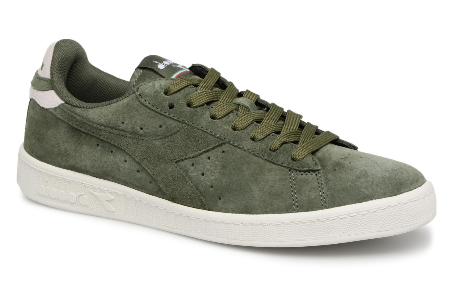 Diadora GAME LOW S (Vert) - Baskets chez Sarenza (328988)