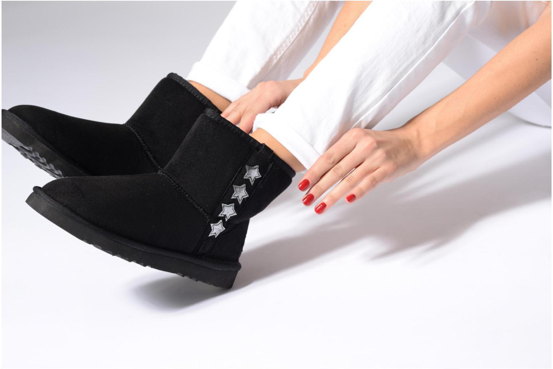 Bottines et boots Esprit UMA STAR BOOTIE Noir vue bas / vue portée sac