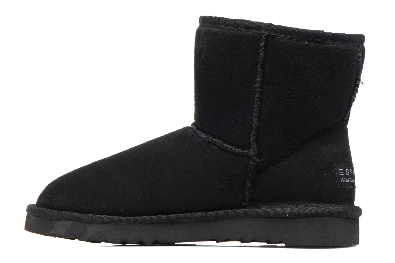 Bottines et boots Esprit UMA STAR BOOTIE Noir vue face