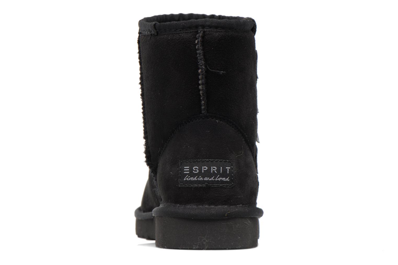 Bottines et boots Esprit UMA STAR BOOTIE Noir vue droite