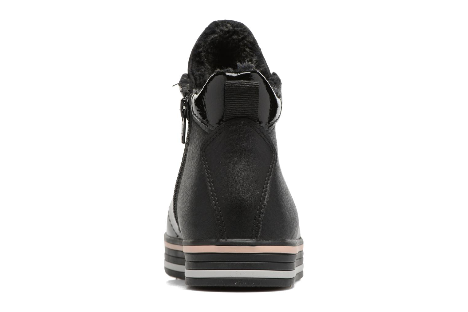Trainers Esprit SITA BOOTIE Black view from the right