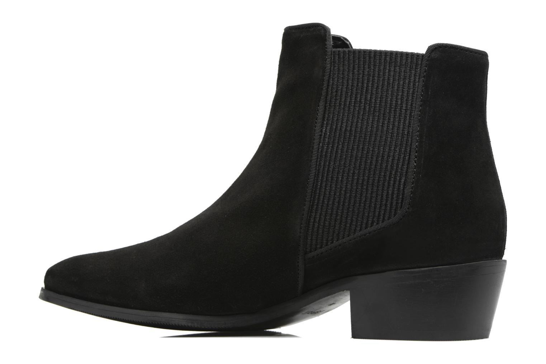Boots en enkellaarsjes Esprit YUE BOOTIE Zwart voorkant